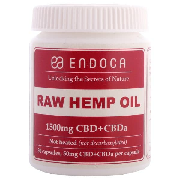 Product image of Endoca CBD Capsules 15% (30 pcs)