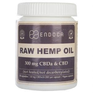 Product image of Endoca CBD Capsules 3% (30 pcs)