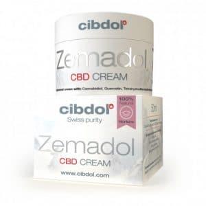 Product image of Zemadol, nurturing CBD cream